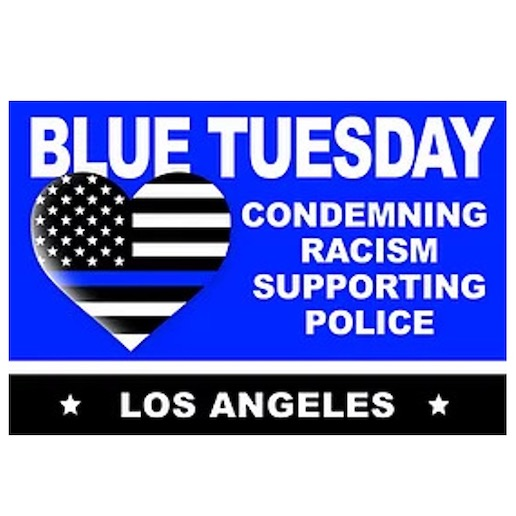 Blue Tuesday in Los-Angeles