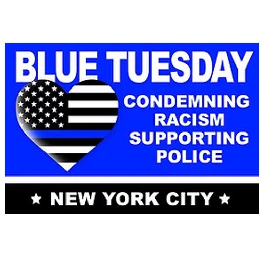 Blue Tuesday in New York